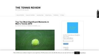 The Tennis Review